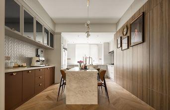 富裕型90平米三室两厅法式风格餐厅装修效果图