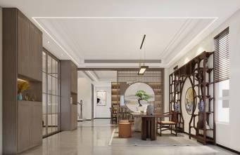 20万以上140平米别墅美式风格餐厅欣赏图