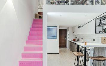 3-5万40平米小户型北欧风格楼梯间图
