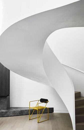 140平米轻奢风格楼梯间装修效果图
