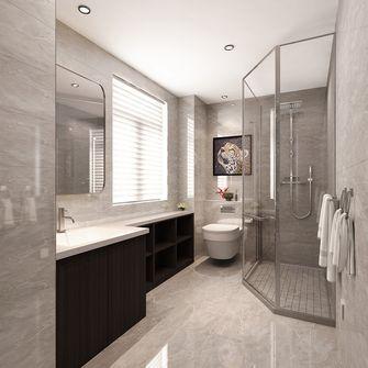 20万以上100平米三室两厅轻奢风格卫生间设计图