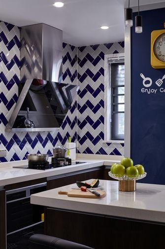90平米三室一厅混搭风格厨房装修案例