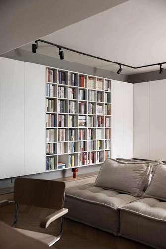 经济型90平米现代简约风格客厅图片