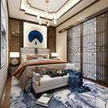 140平米公装风格卧室装修效果图