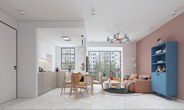 经济型50平米一居室北欧风格客厅图片