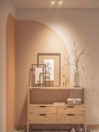 富裕型100平米三室两厅日式风格玄关欣赏图