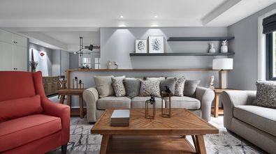 豪华型140平米别墅北欧风格客厅设计图