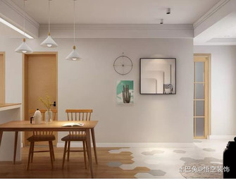 富裕型三日式风格餐厅装修案例