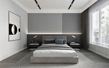 富裕型110平米公寓现代简约风格卧室装修效果图