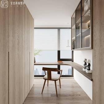 豪华型140平米四室两厅混搭风格书房图片大全