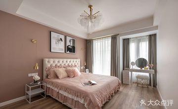 富裕型90平米复式混搭风格卧室设计图