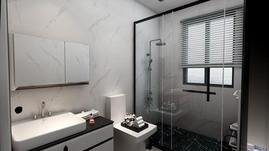 富裕型70平米三室一厅北欧风格卫生间装修图片大全
