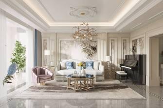 豪华型140平米复式法式风格客厅装修图片大全