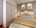 110平米三欧式风格卧室装修案例