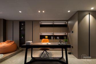 富裕型140平米三室两厅现代简约风格书房设计图