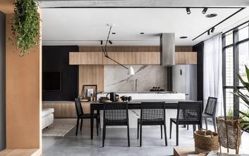 经济型70平米公寓北欧风格餐厅设计图