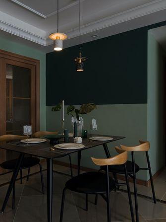 经济型70平米英伦风格餐厅图片大全