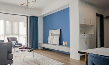 富裕型130平米四混搭风格客厅欣赏图