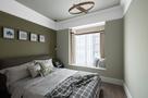 富裕型100平米三室两厅美式风格卧室装修图片大全