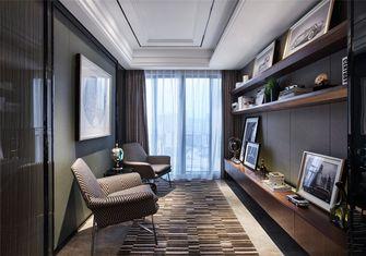 20万以上110平米三室一厅现代简约风格书房图