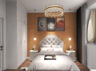 经济型90平米混搭风格卧室设计图