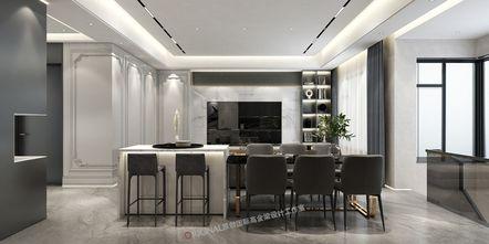 20万以上140平米别墅轻奢风格餐厅欣赏图
