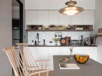120平米三室两厅现代简约风格厨房图