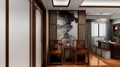 富裕型60平米公寓中式风格客厅图片大全