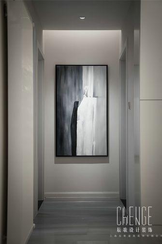 10-15万100平米三室两厅现代简约风格走廊装修图片大全
