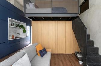 经济型30平米小户型轻奢风格客厅装修效果图