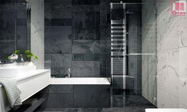 富裕型110平米三室一厅现代简约风格卫生间图片大全