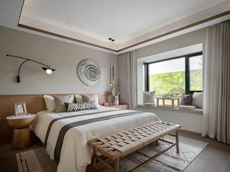 90平米田园风格卧室图