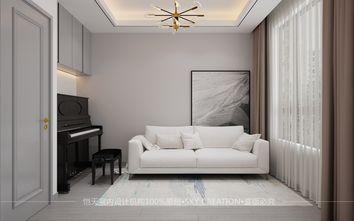 豪华型140平米三现代简约风格书房设计图