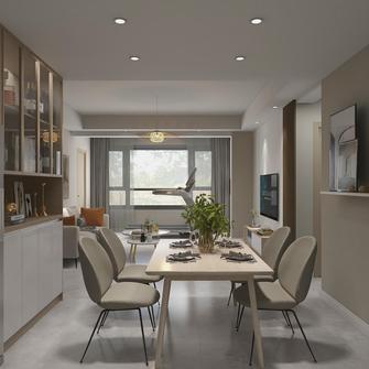 豪华型100平米四室两厅日式风格餐厅设计图