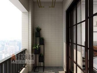 5-10万120平米四室两厅现代简约风格阳台欣赏图