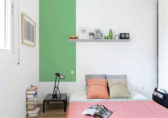 富裕型70平米工业风风格卧室图片大全