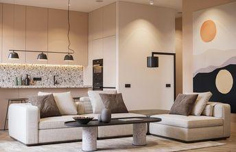 经济型30平米小户型北欧风格客厅装修效果图