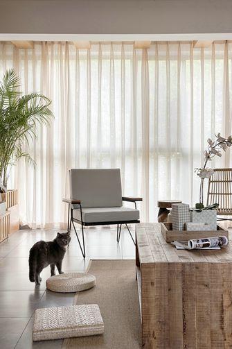 110平米三日式风格客厅图片大全