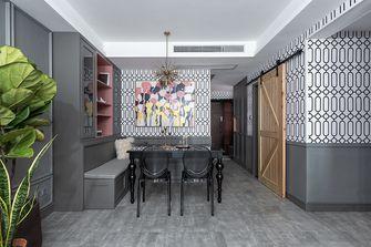 富裕型90平米三室两厅混搭风格餐厅装修案例