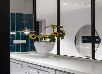 10-15万三室一厅现代简约风格厨房欣赏图