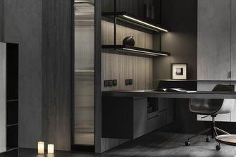富裕型140平米三室两厅混搭风格书房装修案例