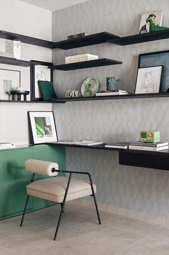 经济型60平米一室两厅北欧风格书房欣赏图