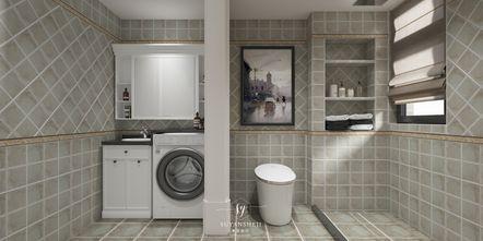 豪华型140平米别墅美式风格卫生间效果图