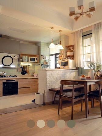 富裕型90平米日式风格厨房图片