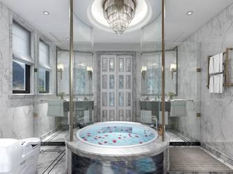 豪华型140平米别墅欧式风格卫生间欣赏图