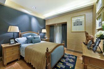 5-10万80平米田园风格卧室装修案例