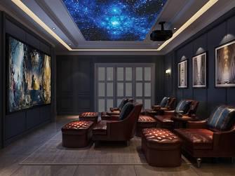 140平米别墅美式风格影音室设计图