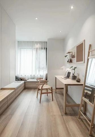 10-15万80平米三室两厅北欧风格书房装修效果图