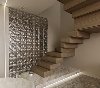小户型北欧风格楼梯间欣赏图