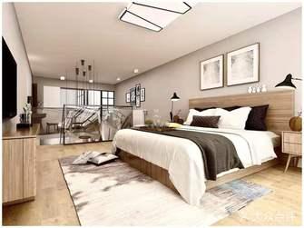 5-10万100平米四室两厅北欧风格卧室效果图